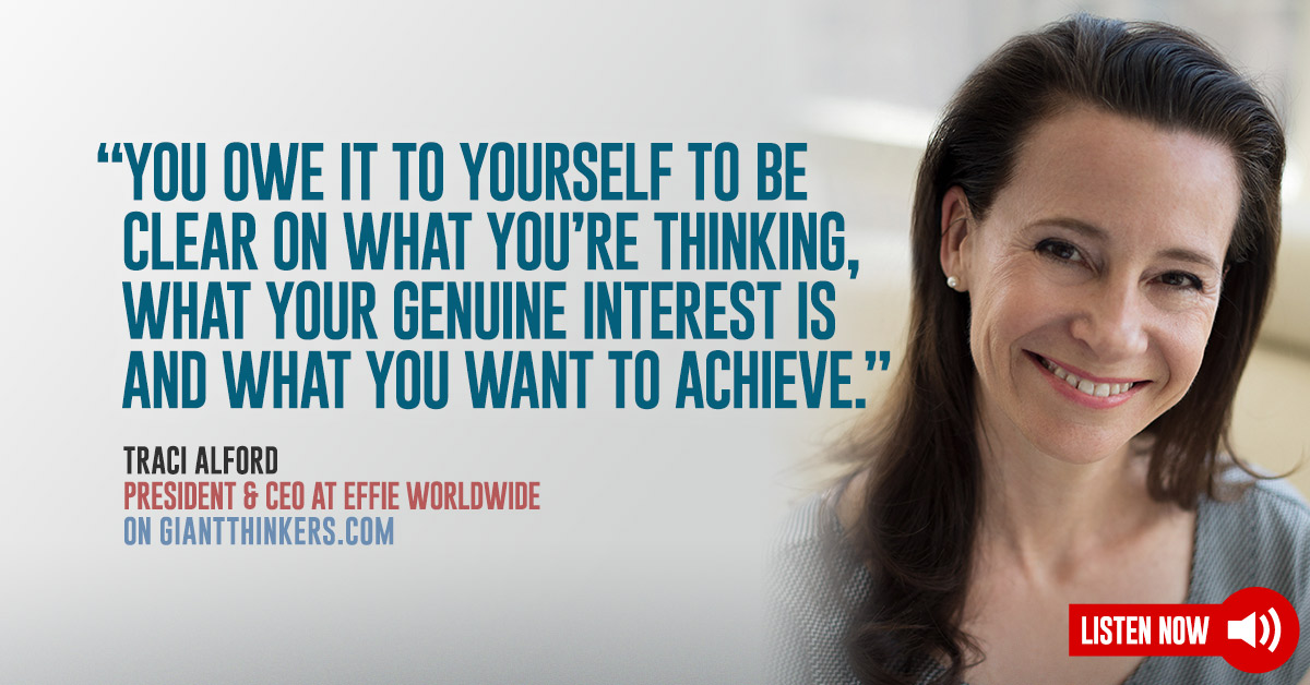 President Ceo At Effie Worldwide Traci Alford On Building
